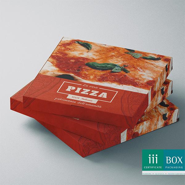 scatola per pizza in carta vegetale elleimballaggi lancionigroup tolentino