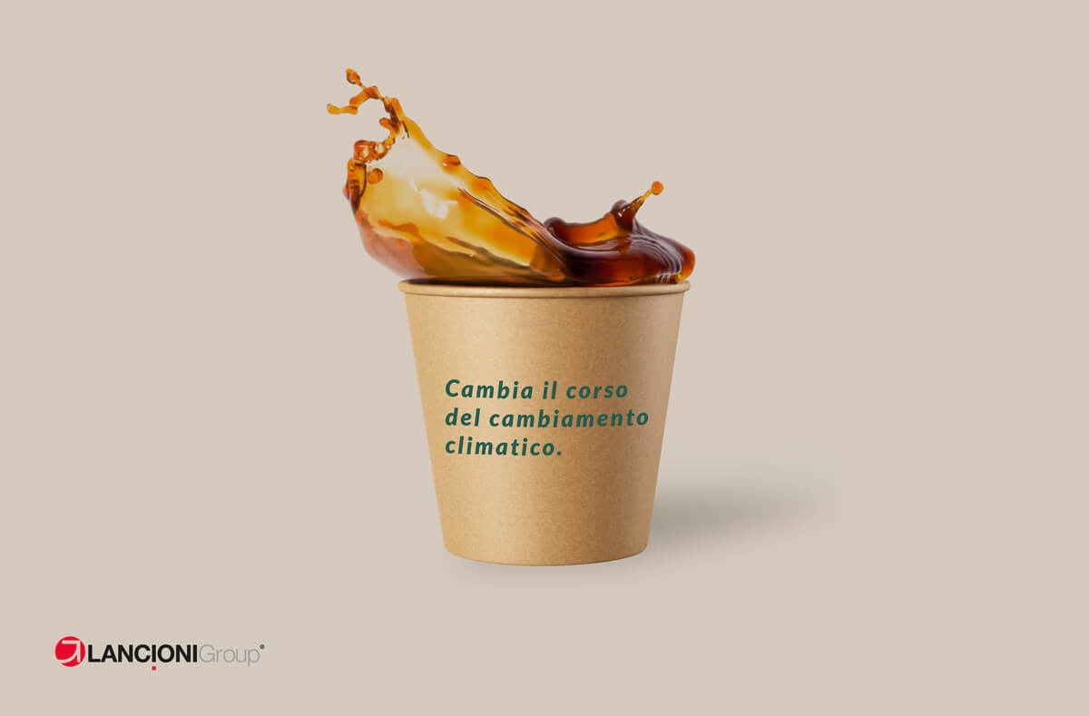 Bicchieri monouso da caffè in carta Lancioni Group